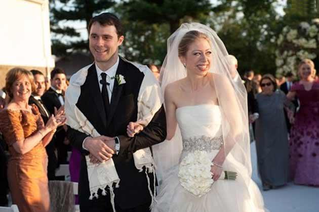 Chelsea Clinton & Marc Mezvinsky